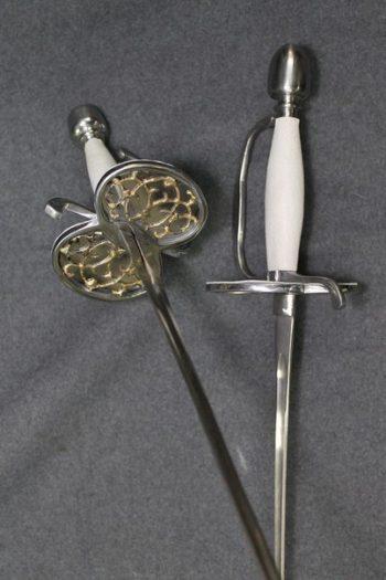 Smallsword, duel, hema, fencing, epee, kvetun